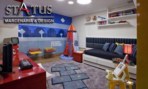 Tenha um quarto dos sonhos para seu filho com móveis planejados
