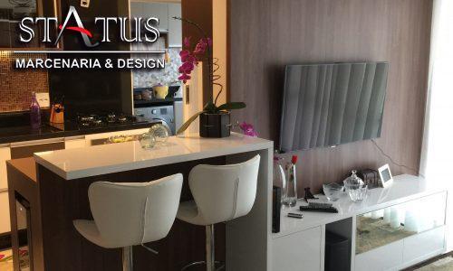 Aposte em móveis planejados para apartamentos de tamanho reduzido